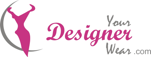 Rust Designer Georgette Sarara Kameez
