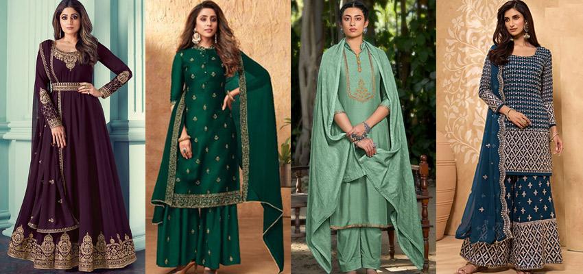 7 Fashionable Wedding Salwar Suit Designs to Roll the Season