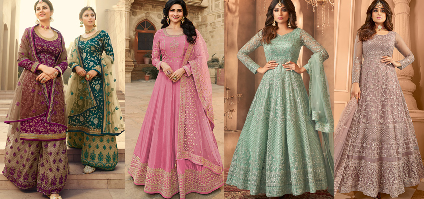 Enjoy This Festive Season In Style With These Designer Salwar Kameez Suits
