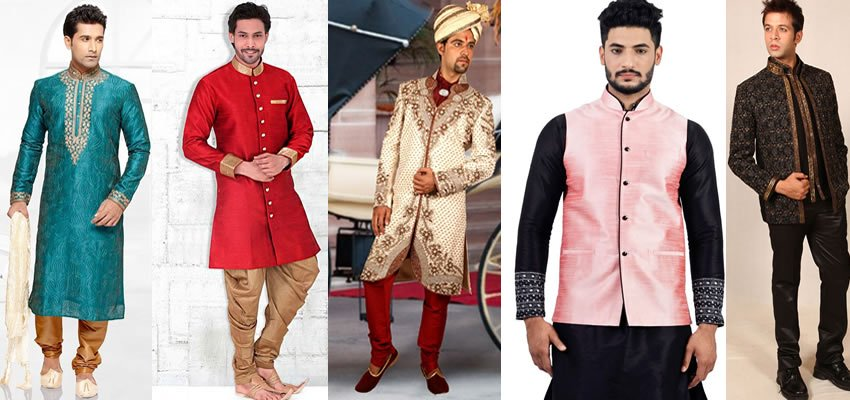 Indo Western Dresses for Men who like to Be Different