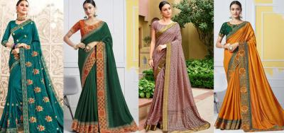 Latest and Newest Styles of Party Wear Sarees for 2020