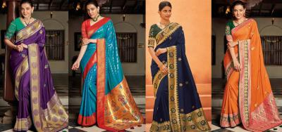 Buy Best Mother's Day Saree Gift Online through YourDesignerWear!