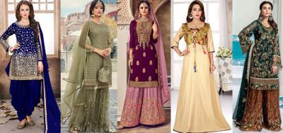 Pakistani Salwar Suit : Latest Ethnic Wear Trend in India
