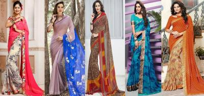 Printed Sarees for Working Professionals: Best Choice