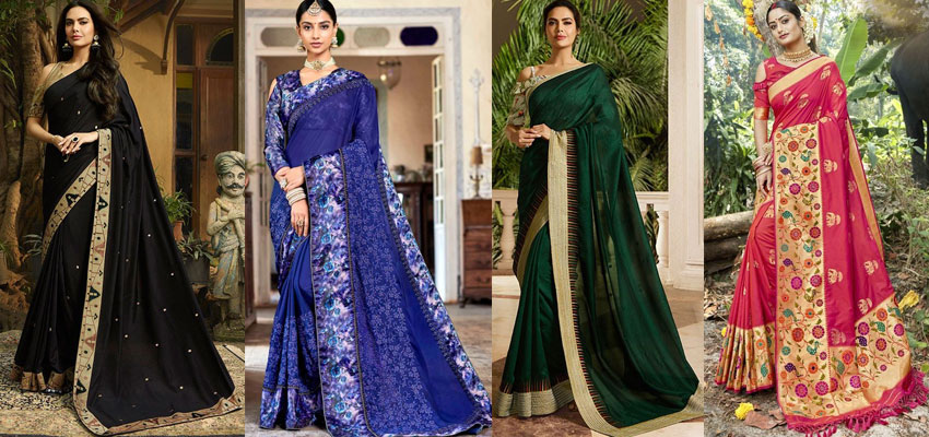 Trend Alert! Off Shoulder Blouses With Saree